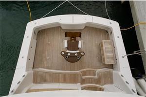 66' Viking Convertible 2014 Cockpit