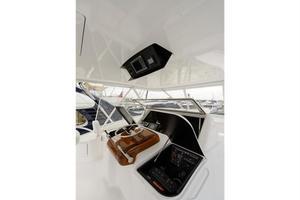 66' Viking Convertible 2014 Flybridge Helm Port