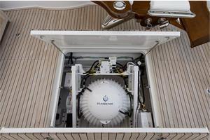66' Viking Convertible 2014 Cockpit SeaKeepter