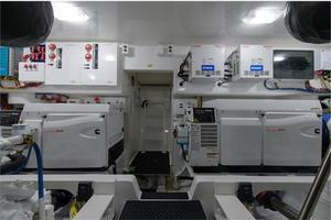 66' Viking Convertible 2014 Twin Generators