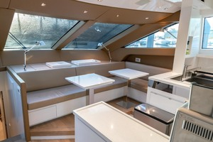 87' Sanlorenzo SL 86 2017 Galley