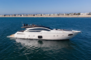 82' Pershing  2017 Aerial Profile
