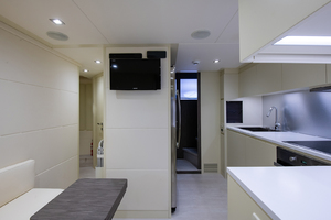 82' Pershing  2017 Galley