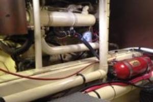 53' Meridian Mcs 53 1974 Engine Room
