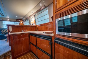 51' Riviera Convertible 2005 11 Galley