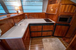 51' Riviera Convertible 2005 10 Galley