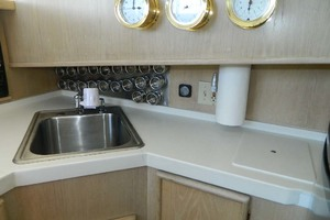 46' Post Sport Fisherman 1994 Galley Sink
