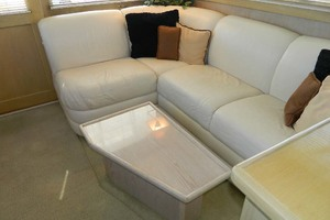 46' Post Sport Fisherman 1994 Salon Settee To Port