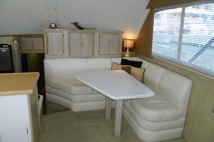 46' Post Sport Fisherman 1994 Dinette Starboard Forward