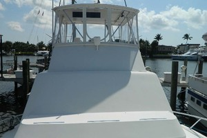 46' Post Sport Fisherman 1994 Bow Looking Aft