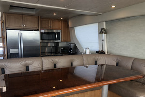 65' Pacific Mariner Pilothouse 2000 PilothouseSettee