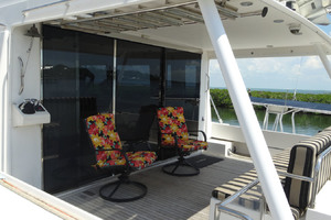 65' Pacific Mariner Pilothouse 2000 Aft Deck