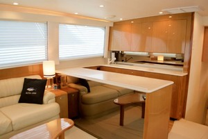 55' Viking 55 Convertible 2001 28 Galley