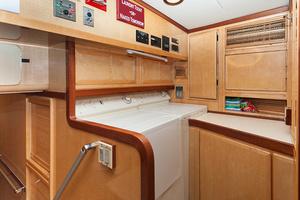 92' Motor Yacht Ortona Navi 1989 Crew Laundry Room