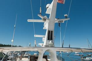 92' Motor Yacht Ortona Navi 1989 Bridge Deck