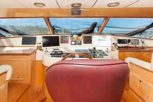 92' Motor Yacht Ortona Navi 1989 Pilothouse