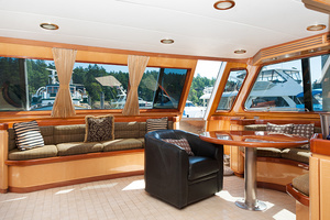 92' Motor Yacht Ortona Navi 1989 Enclosed Aft Deck