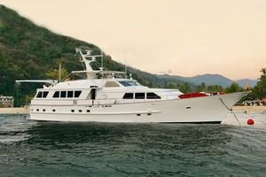 92' Motor Yacht Ortona Navi 1989 Golden Rose 92