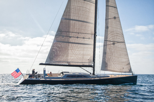 77' Goetz / Derecktor Custom Sparkman & Stephens Designed Performance Sailing Yacht 1996 AANDEEL EXTERIOR