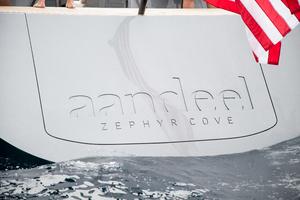 77' Goetz / Derecktor Custom Sparkman & Stephens Designed Performance Sailing Yacht 1996 STERN