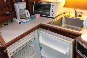 36' Jersey 36 Convertible 1990 Galley Refrigerator
