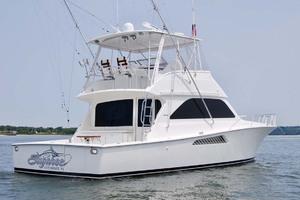 48' Viking 48 Convertible 2002 Starboard Aft