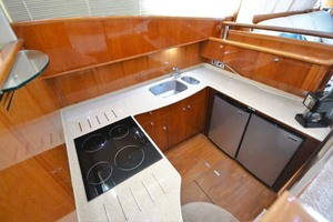 61' Viking Princess Sport Cruiser 2004 Galley