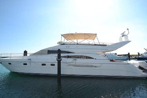 61' Viking Princess Sport Cruiser 2004 Port Profile