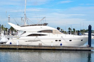 61' Viking Princess Sport Cruiser 2004 Starboard