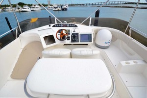 61' Viking Princess Sport Cruiser 2004 Flybridge Helm