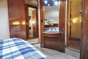 61' Viking Princess Sport Cruiser 2004 Master Stateroom Forward