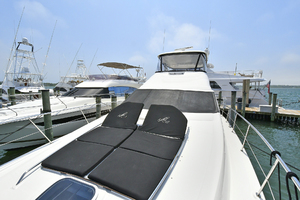 58' Sea Ray 580 Sedan Bridge 2009 Foredeck Sunlounge