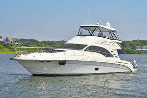 58' Sea Ray 580 Sedan Bridge 2009 Port Side Bow