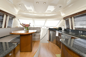 58' Sea Ray 580 Sedan Bridge 2009 Dinette/Galley