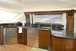 58' Sea Ray 580 Sedan Bridge 2009 Galley