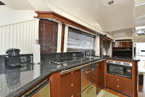 58' Sea Ray 580 Sedan Bridge 2009 Galley/ Dinette