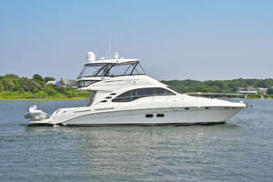 58' Sea Ray 580 Sedan Bridge 2009 Starboard Side
