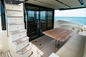 52' Absolute 52 Navetta 2017 Stairs From Flybridge To Aft Deck