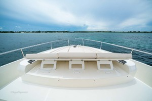 52' Absolute 52 Navetta 2017 Foredeck Sunpad Headrests