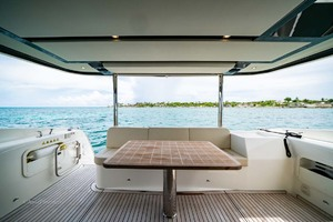 52' Absolute 52 Navetta 2017 Aft Deck