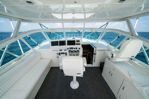 Marauder is a Cabo Express Yacht For Sale in Palm Beach Gardens-Helm Deck-29