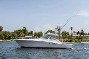 45' Cabo Express 2007 Port View