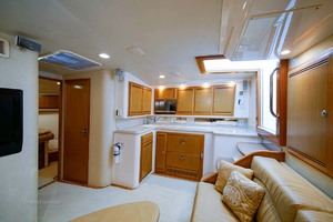 45' Cabo Express 2007 Galley