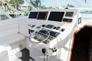 45' Cabo Express 2007 Helm Electronics