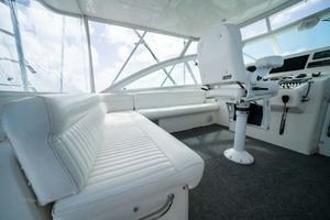 Marauder is a Cabo Express Yacht For Sale in Palm Beach Gardens-Helm Deck-30