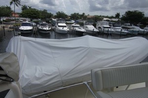 53' Hatteras Motoryacht 1978 DINGHY COVERED