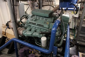 60' Custom Blount Marine Research Vessel 1966 Engine