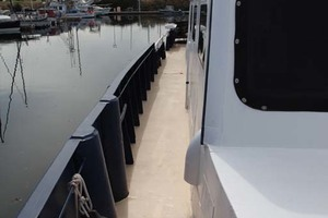 60' Custom Blount Marine Research Vessel 1966 Starboard Side Deck