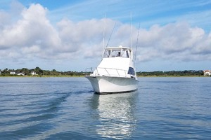 42' Ocean Yachts Super Sport 1991 Bow View