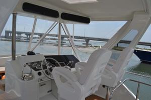 42' Ocean Yachts Super Sport 1991 Flybridge Helm